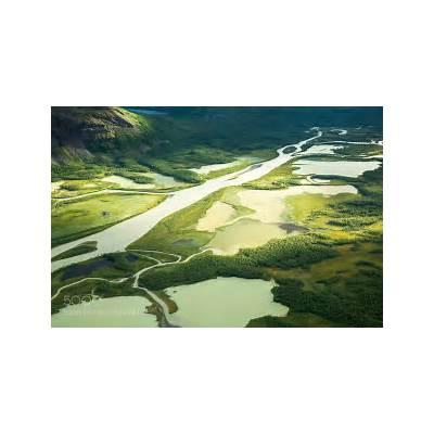 Rapa River - in Sarek National Park Thousand Wonders