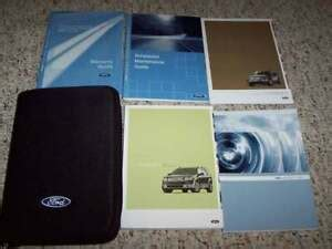 ford taurus  suv owner manual user guide set sel