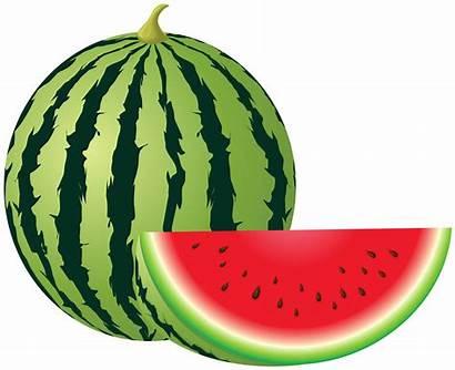 Watermelon Clipart Transparent Clip Fruit Melon Frutas