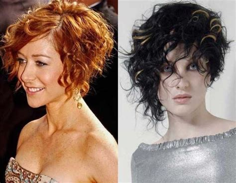 Natural Short Curly Hairstyles For Women
