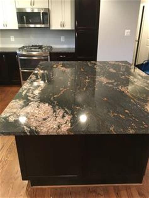 granite magma gold contemporary kitchen
