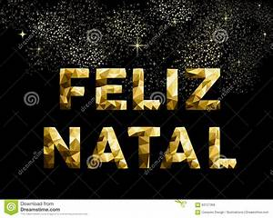 Weihnachten In Brasilien : frohe weihnachten feliz geburts brasilien gold niedrig poly vektor abbildung bild 63127368 ~ Markanthonyermac.com Haus und Dekorationen