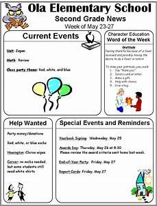 5th grade newsletter template 28 images 5th grade With 5th grade newsletter template