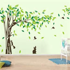 aliexpress com buy new wall decor giant tree wall sticker green lifesize trees wall decals