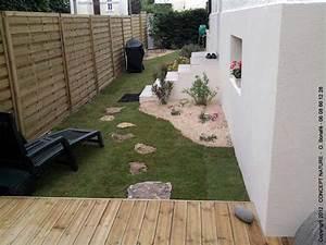 Aménager Une Terrasse : amenagement petit jardin avec terrasse inds ~ Melissatoandfro.com Idées de Décoration
