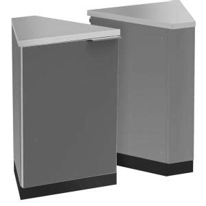 home depot outdoor kitchen cabinets newage products aluminum slate of 45 degree corner 22 7143