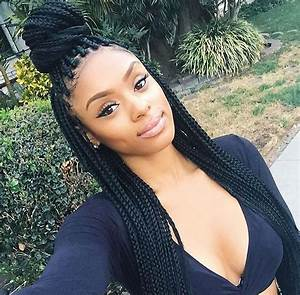 Box Braids Hairstyles: 16 Photos of Box Braid Hairdos