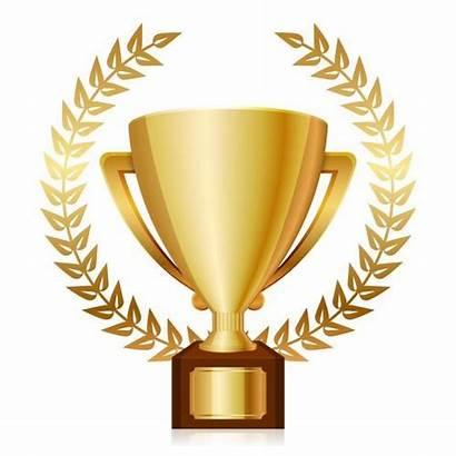 Trofeo Trophy Pokal Clipart Oro Shiny Gouden