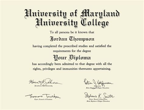 university  maryland university college double document