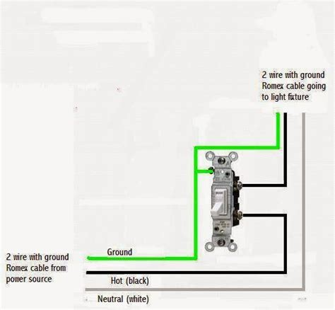 Home Wiring Switch by Diy Mobile Home Repair Light Switch Wiring Diagram