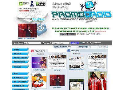 promodroidcom money making website business  host