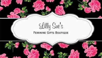 images  girly floral business cards