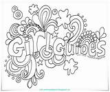 Guides Guide Brownie Doodle Activities Brownies Toadstool Owl Promise Coloring Canada Sparks Colouring Pages Printables Law Guiding Paper Hat Crafts sketch template
