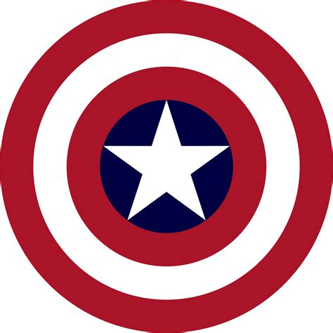 File:Captain America's shield.svg - Wikimedia Commons