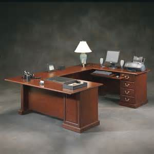 sauder heritage hill outlet executive u shaped desk 72