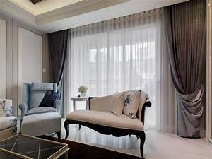 Modern Curtain Designs For Living Room Picture : Ideas