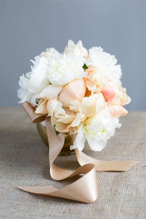 Create Your Own Handtied Peony Wedding Bouquet