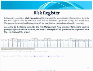 11 Excel Risk Assessment Template