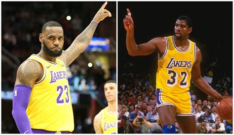 LeBron to follow in Magic's footsteps, play point guard ...