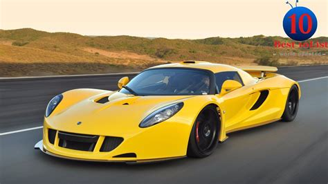 Top 15 Fastest Supercars In The World