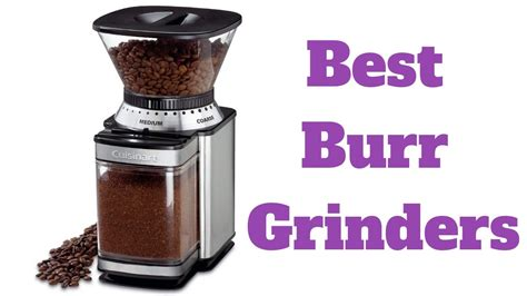 The coffee grinder boasts incredible performance and quality. The 6 Best Burr Coffee Grinders - Reviews - YouTube
