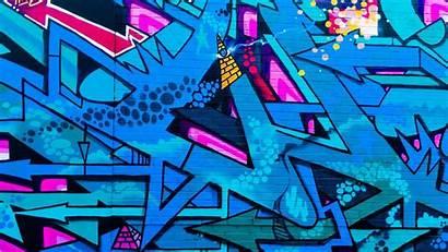 Graffiti Street Colorful Background Urban Wall Laptop