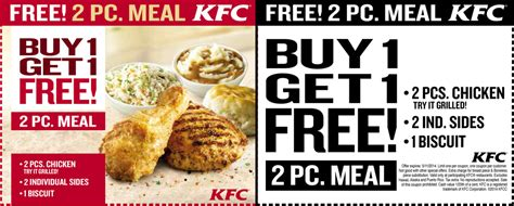 kfc coupons  june kfc coupons