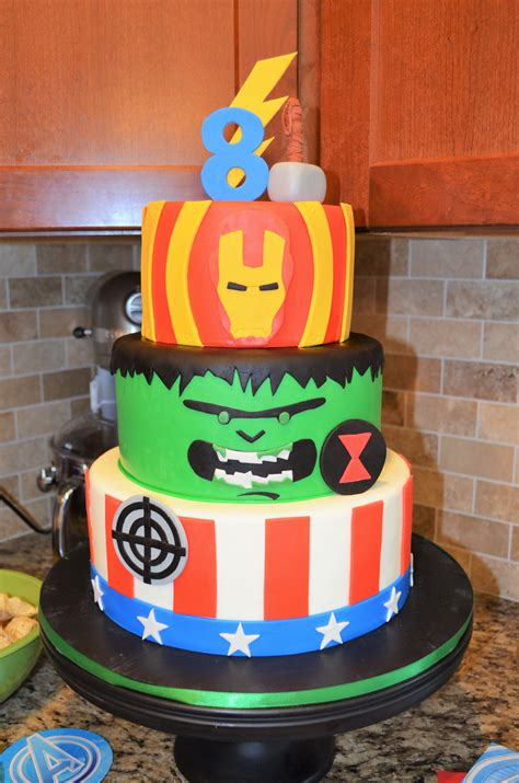 We are specialty cake designer. Avengers Birthday Cake | Avengers birthday cakes, Moose ...