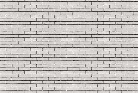 papier peint deco chambre mur blanc poster mur de briques blanches poreuses