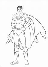 Superman Coloring Pages Super Printable Para Colorear Dibujos Outline Imprimir Draw Pintar sketch template