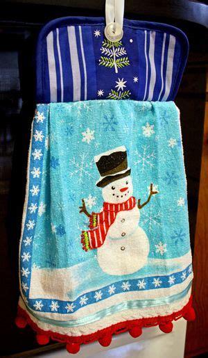 kitchen towel craft ideas gift pot holder dish towel dollar store crafts