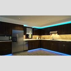 Led Kitchen Cabinet And Toe Kick Lighting  Contemporary
