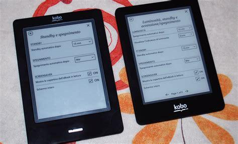 kobo touch illuminazione kobo glo mondadori come va il lettore digitale