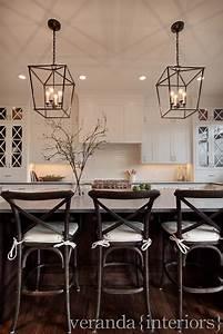 White kitchen cross mullions on glass windows dark
