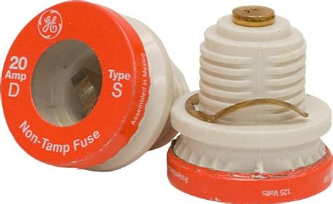 Ge Type S/sl Time Delay Fuse, 20-amp, 2-pack 18254