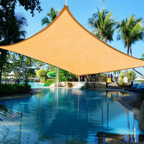 Shade Canopy by Sun Shade Sail Uv Top Outdoor Canopy Patio Lawn 11 5 16 5
