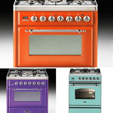 colored appliances kitchen color trends are bright with colored appliance