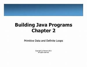 Building Java Programs Exercise Solutions Pdf