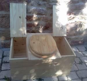 Seau Toilette Seche : toilette s che idecolo double bac a sciure avec abattant ~ Premium-room.com Idées de Décoration