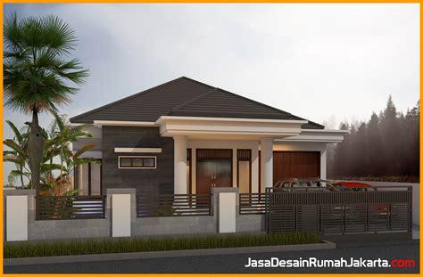 gambar desain rumah adat bali modern  ideal