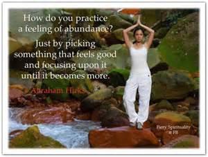 Abraham-Hicks Abundance Quotes