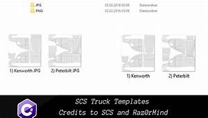 scs ats trucks templates american truck simulator mod With ats templates