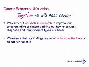 How can Cancer Research UK