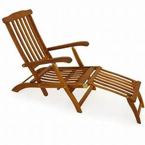 Bain De Soleil Bois Pas Cher : chaise longue en bois queen mary transat bain de soleil jardin si ge relax neuf pas cher ~ Teatrodelosmanantiales.com Idées de Décoration