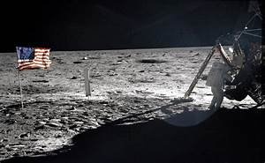 Neil Armstrong On The Moon, 1969 – History By Zim