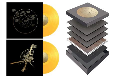 voyager golden record  reissued  vinyl  years  launch