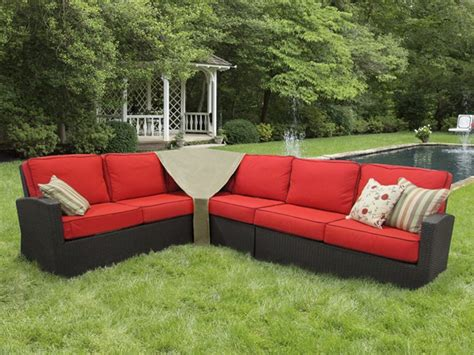 outdoor sectional sofa covers center pieces patio