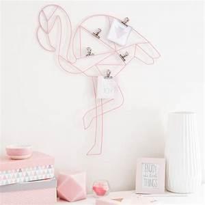 Pele Mele Maison Du Monde : pele mele photo en metal rose flament rose flamingo maison du monde la deco de paul lola ~ Teatrodelosmanantiales.com Idées de Décoration
