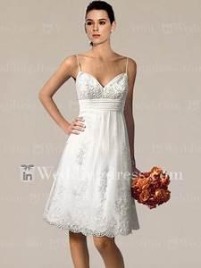casual short beach wedding dresses With short casual wedding dresses