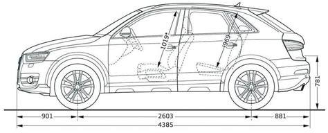 Dimensions Audi Q3